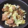 【メイン】焼豚キャベツの簡単マヨラー風味炒め