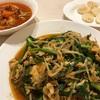 チキンのトマト煮とニラ玉のレシピ