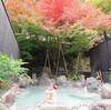 『奇跡の湯 青湯』 杜の湯 ゆふいん泰葉 宿泊者専用露天風呂