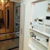 キッチンのスペースを有効活用!キッチンストッカーで隙間収納!
