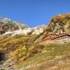 【アルプスを代表する紅葉の名所涸沢カールへ 涸沢小屋泊】【山が最も美しい瞬間モルゲンロート奥穂高岳】