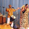 中学校でアフリカ音楽の鑑賞会♬