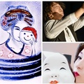 世界初のサンドアートと日本舞踊のコラボライブ
