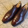 愛用している革靴のご紹介:④三陽山長 友之介