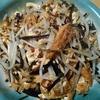 私と素食…厚揚げと昆布とモヤシの炒め物