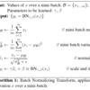 BatchNormalizationの初出論文メモ