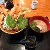 🚩外食日記(204)    宮崎ランチ   「海鮮茶屋 うを佐」⑤より、【一本穴子豪快天丼】‼️