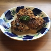 新玉ねぎの鯖味噌パン粉焼き