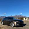 【車・趣味】初雪と洗車、雪を被った浅間山 ~冬晴れの空の下~