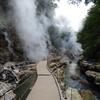 吹き出す大地の息吹と清流と ~小安峡 大噴湯~