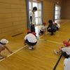 やまびこ:体育 綱引きの練習