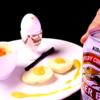 【食戟のソーマ完全再現】3つの形状(フォルム)の卵プレート 後編 薙切 アリスが作った朝ごはん作ってみた【実写化】Food Wars!: Shokugeki no Soma