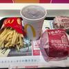 約九ヶ月ぶりのマクドナルドで、二代目月見バーガーを食べました!!!