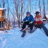 スノーバイクでレッツゴー!