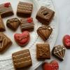チョコレートのようなアイシングクッキー★2月のバレンタインレッスン