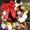 フレッシュクリスマスリース