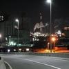 三井化学の工場夜景( 山口県玖珂郡和木町)