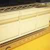 キッチンのパントリー収納がわりに無印良品のポリプロピレンケース設置After