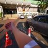 カミリアン病院でコレストロールの検査