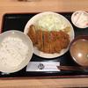 とんかつ おりべでロースかつ定食(浅草)