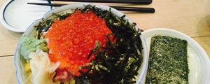 恵比寿「寿司文」〜寿司屋のカウンターで独り無限手巻きパーティ
