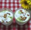 抹茶アイスと手作りヨーグルトと野菜について