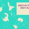 週報 2021/6/14(月)〜2021/6/20(日)
