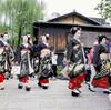 正装の芸舞妓があいさつ回り…30度超えの京都
