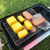 キャンプ飯 燻製作りながらBBQすれば楽しさ2倍。