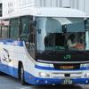 名古屋に到着したJRバス関東の夜行バス