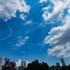 2021年 7月23日(金) 今日はいよいよ東京オリンピックの開会式でブルーインパルスの展示飛行を見に行った話