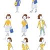スターツ出版 OZ TRIP春号「気ままにゆるゆるひとり旅」挿絵