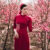 【アオザイ】ベトナム人は、やっぱり赤が好き! in Vietnam
