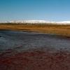 内蒙古からチベット7000キロの旅㉛ 赤い川と塩湖