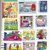 我が家に来たPostcrossingの切手