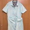 手縫いでダブルガーゼのパジャマを縫った