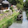 【近江八幡】近江商人が行き交った八幡堀の水郷めぐりは江戸の風情にあふれていた!