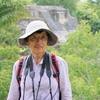 ベリーズ 背景はアルツンハの有名なピラミッド
