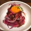 鉄板や万菜 『ローストビーフ丼』