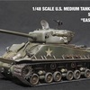 "1/48 SCALE U.S. MEDIUM TANK M4A3E8 SHERMAN ""EASY EIGHT""ヨンパチシャーマンイージーエイト。"