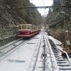 南海高野線、雪の乗車記①鉄道風景170...過去20161218