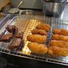 幸運な病のレシピ( 767 )昼:鳥ムネを叩いたメンチカツ(味噌味)、手羽先チューリップ唐揚げ、サンマ唐揚げ