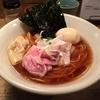 【今週のラーメン2254】 Homemade Ramen 麦苗 (東京・大森海岸) 特製鶏の醤油らぁめん+日本酒(純米酒花巴)
