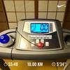 「トレーニング記録」今朝は10kmジョグとタバタ式トレーニングでヒーハー!!
