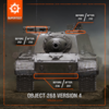 【WOT】ソ連 Tier 10 駆逐戦車 Object 268 Version 4 性能調整【Supertest】