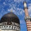 ドレスデンで目を引くオリエンタルなモスク風建築『Yenidze』