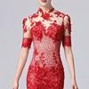 Une robe chic rouge pour la Saint-Valentin