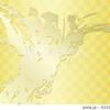 勢いのある金の筆跡和風背景4