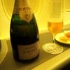 【搭乗記】 エバー航空ビジネスクラス KRUG ROSEで乾杯!パリ-台北 BR88 機内食編