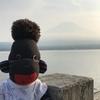 山中湖と富士山と・・・